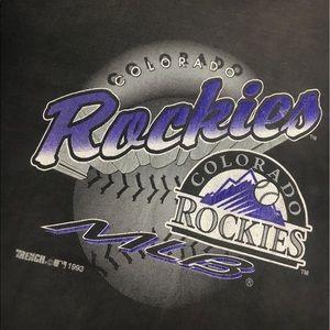 Colorado Rockies MLB Baseball Shirt 1993